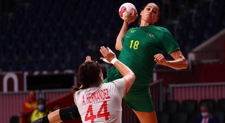 Brasil perdeu a primeira nos Jogos Olímpicos de Tóquio