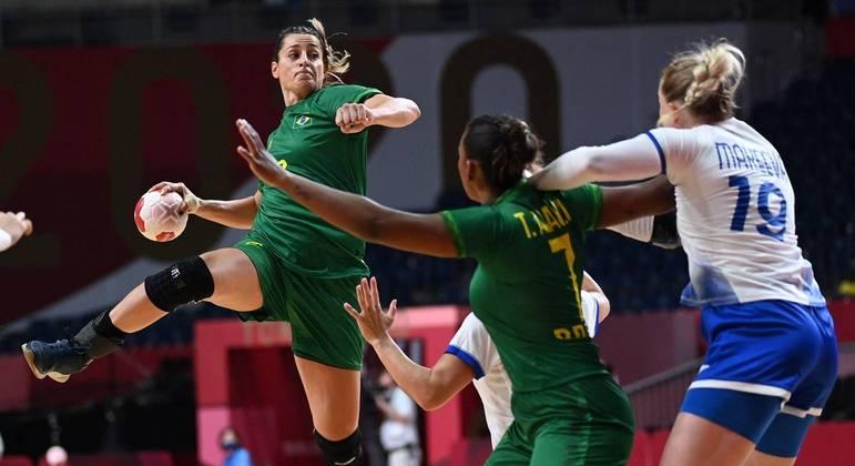 Seleção feminina de handebol do Brasil ainda não perdeu nos Jogos Olímpicos