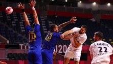 Brasil cai para a França e perde a segunda no handebol masculino