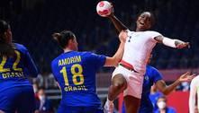 Handebol: seleção feminina perde para França e está eliminada