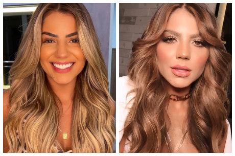 Hari exibiu antes e depois nas redes sociais