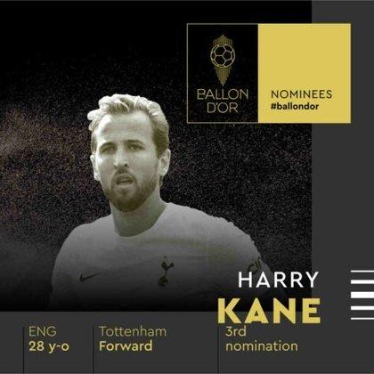 Harry Kane (inglês) - atacante - Tottenham