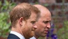 Família Real: William e Harry se encontram em homenagem à mãe