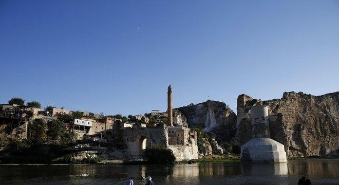 A cidade de Hasankeyf, na Turquia, pode ser inundada já em outubro