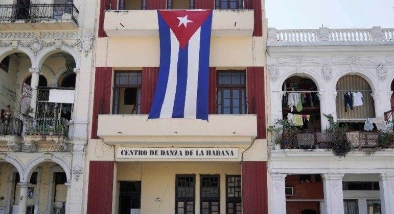 Havana, capital de Cuba, teve suas ruas ocupadas por manifestantes no dia 11 de julho
