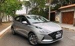 Hyundai HB20O segundo preferido dos brasileiros no ano passado foi tambémum hatch pequeno, que totalizou 86.548 vendas em 2020