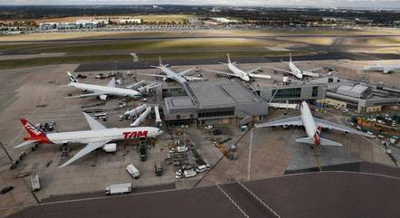 Foto de arquivo mostra o aeroporto de Heathrow, perto de Londres