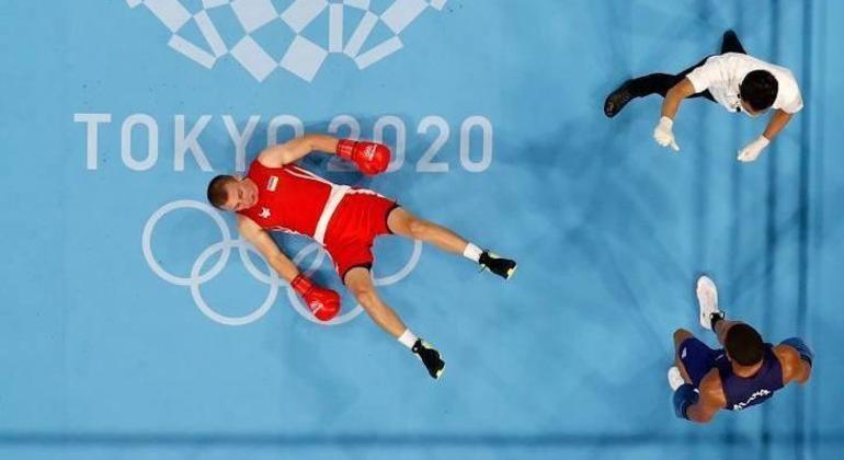 Hebert, um nocaute inédito no Boxe Olímpico