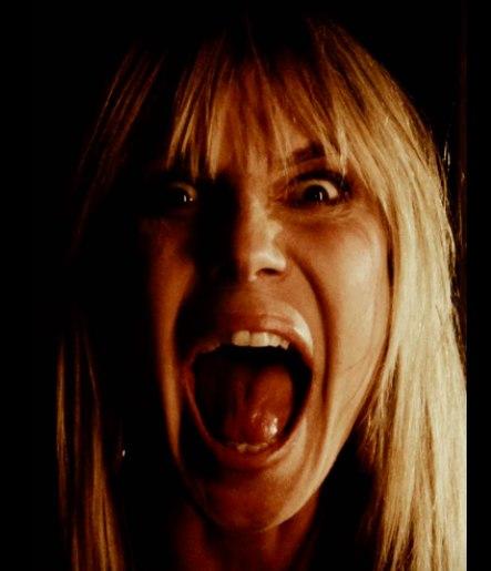 Heidi Klum fez um filme de terror em família