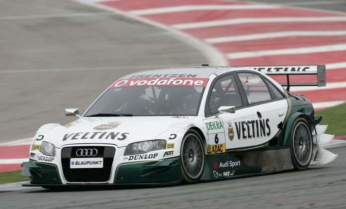 Heinz-Harald Frentzen competiu no DTM entre 2004 e 2006.