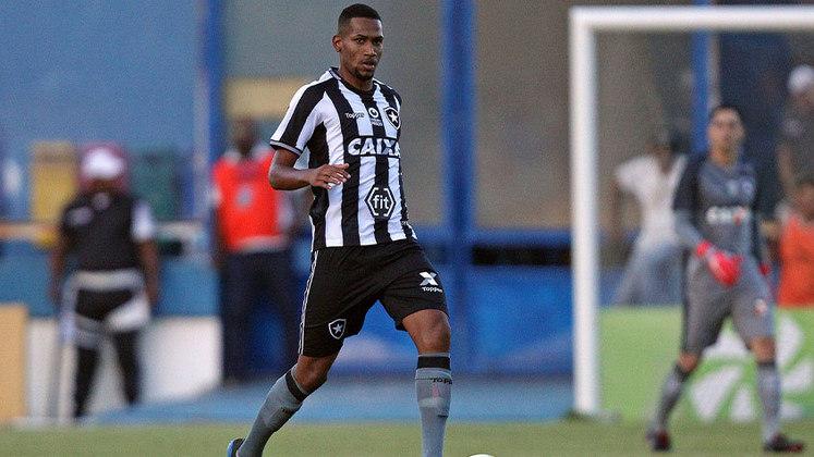HELERSON atuou apenas na derrota do Botafogo para o Internacional, por 2 a 1.