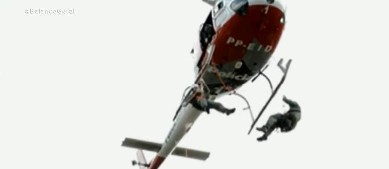 Helicópteros Águia são usados em casos de emergência