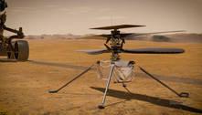 Helicóptero em Marte faz voo mais longo em terceira decolagem