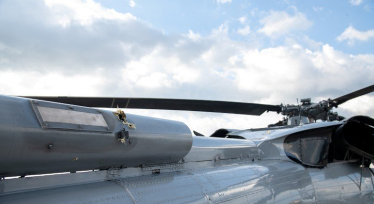 Helicóptero que transportava Ivan Duque foi atacado no fim de junho