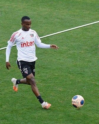 HELINHO - Atacante de 20 anos iniciou esta temporada como titular, já que Antony estava com a Seleção olímpica, mas lesionou-se no segundo jogo. Recuperado, entrou no segundo tempo contra o Bragantino e pode ter nova chance diante do Guarani. Soma 30 jogos e um gol como profissional do São Paulo.