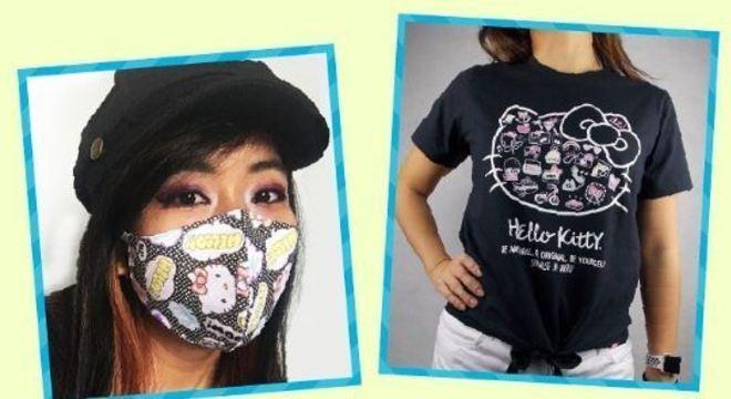 A cada venda, uma máscara personalizada será doada a instituições
