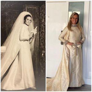 Helô provou vestido do dia do casamento