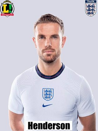 Henderson – 6,0 – Entrou no segundo tempo para renovar o meio-campo inglês e foi substituído no final da prorrogação.
