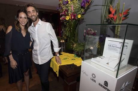 Marina e Henri são os fundadores da ONG