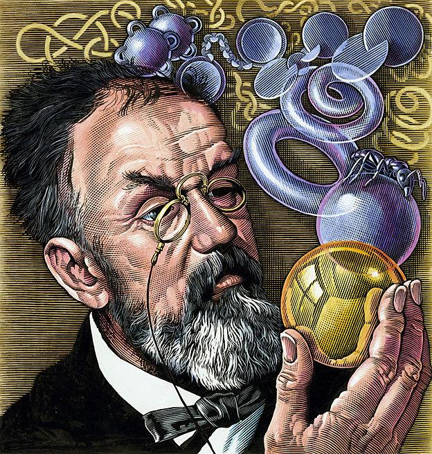 Henri Poincaré (1854-1912) levou o problema adiante, mas não conseguiu resolvê-lo para superfícies em 3D