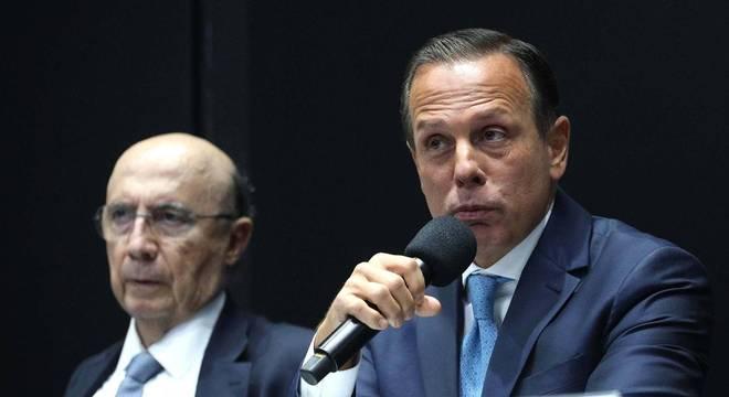 Henrique Meirelles e João Doria anunciam investimento no Projeto Guri