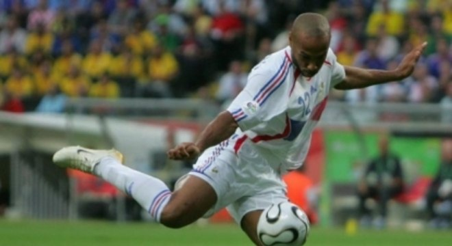 Henry fez o gol da vitória