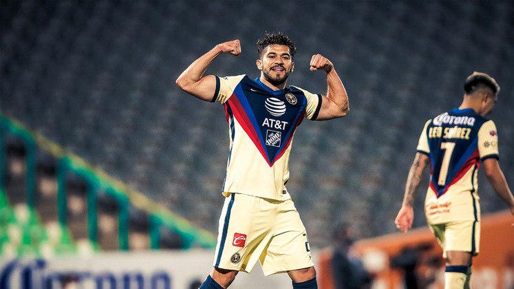 Henry Martín - Clube: America - Seleção: México - Posição: Atacante - Idade: 28 anos - Valor segundo o Transfermarkt: 4 milhões de euros (aproximadamente R$ 24,18 milhões)