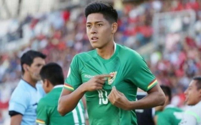 Henry Vaca - Atlético Goianiense - meia - 22 anos - boliviano