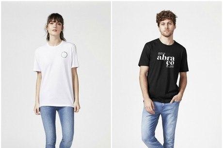 Camisetas têm mensagens positivas