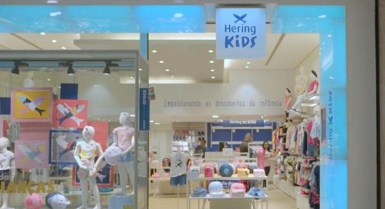 Loja de roupas infantis da Hering