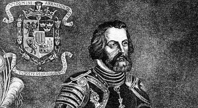 O Atahualpa de Binet foi parcialmente inspirado no espanhol Hernán Cortés