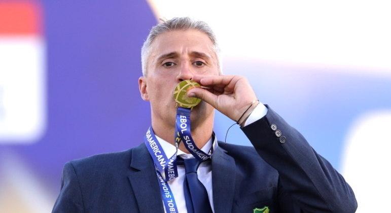 Crespo conquistou primeiro título internacional no Defensa y Justicia