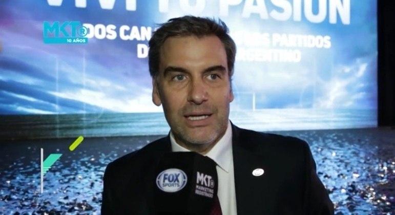Hernán Donnari, o CEO da GSRM