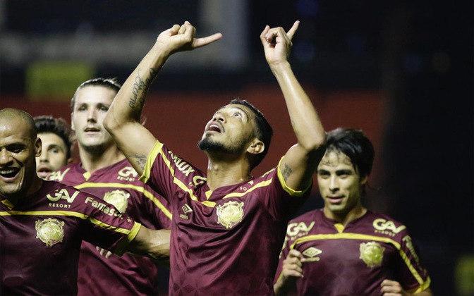 Hernane - 34 anos - Atacante - Último clube: Sport - Sem clube desde: 01/03/2021