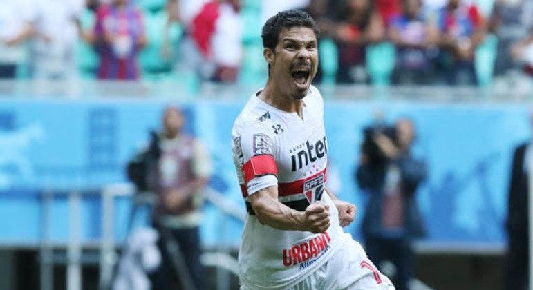 Hernanes foi fundamental para o São Paulo não ser rebaixado em 2017
