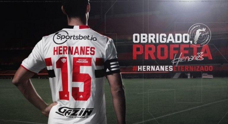 São Paulo divulgou a carta de Hernanes. Casares decidiu rescindir em janeiro, ao assumir a presidência
