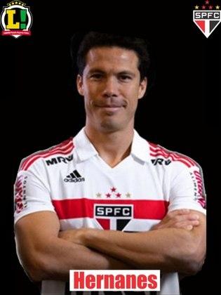 Hernanes - 6,0: Entrou para ajudar com a seua experiência e passar tranquilidade ao time. Atuação segura.