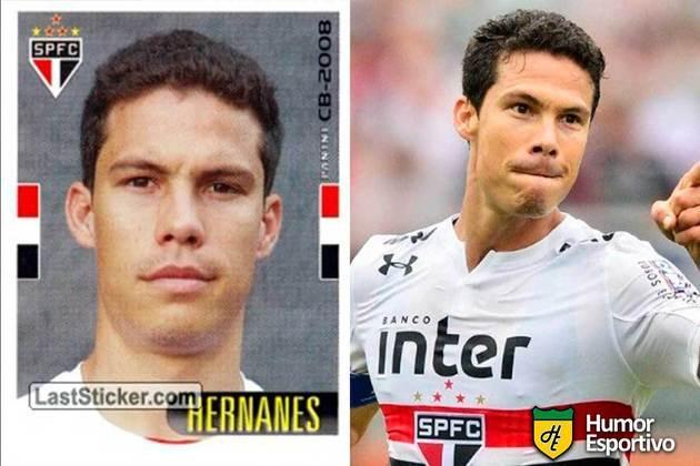 Hernanes jogou pelo São Paulo em 2008. Em 2021, defende novamente o Tricolor no Brasileirão.