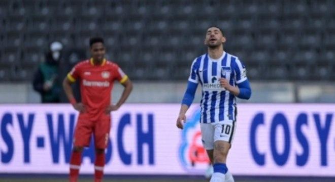 Hertha Berlin x Bayer Leverkusen - Matheus Cunha