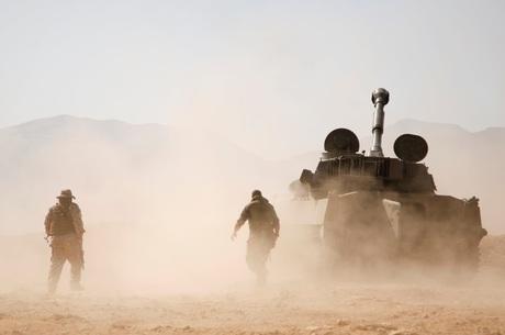 Combatentes do Hezbollah atuam na Síria