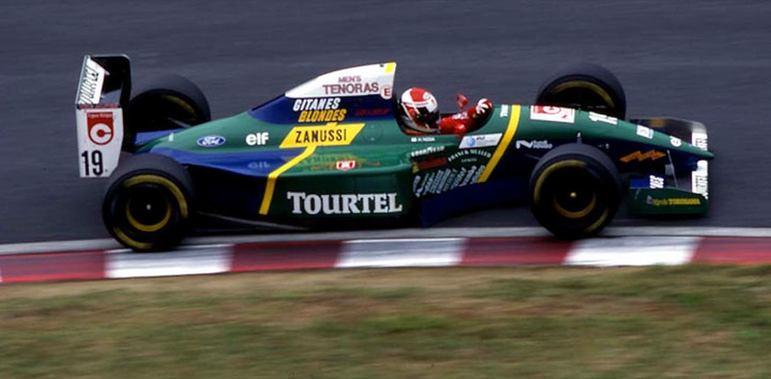 Hideki Noda participou de três corridas em 1994