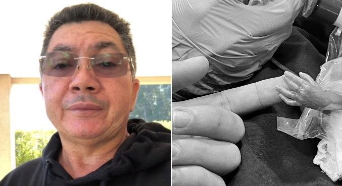 Pai de Whindersson, Hidelbrando desabafou em vídeo no Instagram