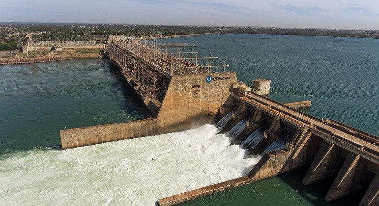 Restrições foram recomendadas para 4 hidrelétricas, incluindo a de Jupiá (foto)