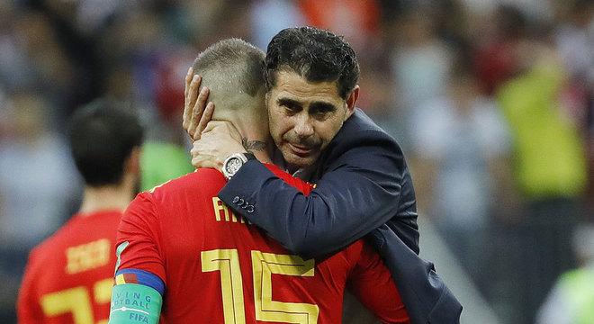 Hierro comandou a Espanha na Copa da Rússia. Eliminação de forma invicta