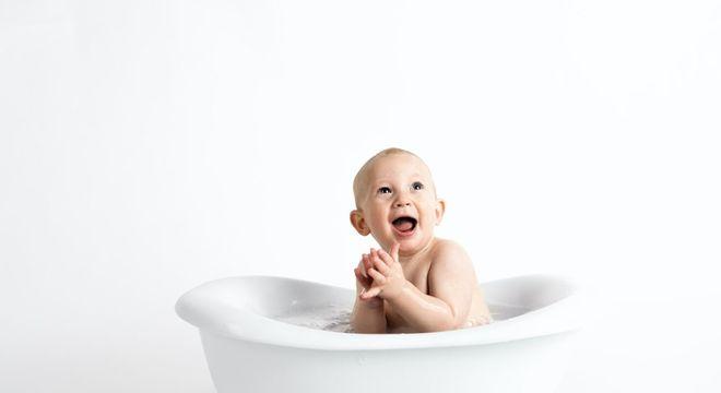 higiene do bebê