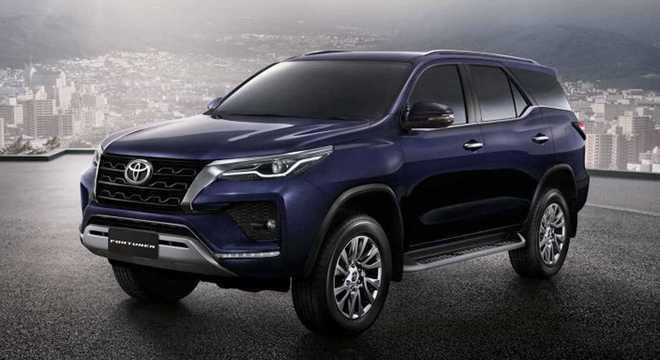 SW4, conhecida na Ásia como Fortuner ficou até R$ 12,5 mil mais cara no modelo 2021
