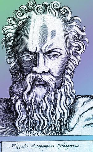 Hipaso de Metaponto se tornou um herege pitagórico