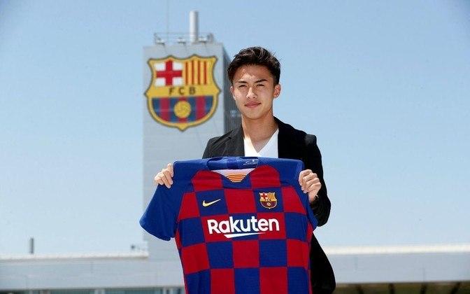 Hiroki Abe - Atacante - 21 anos - Barcelona B