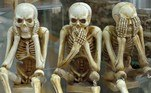 Segundo esse e outros livros, era comum até membros da realeza europeia devorarem cadáveres. Geralmente em remédios com ossos, gordura, pele e sangue humanos