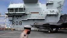 Marinha Real Britânica detecta surto de covid-19 em vários navios